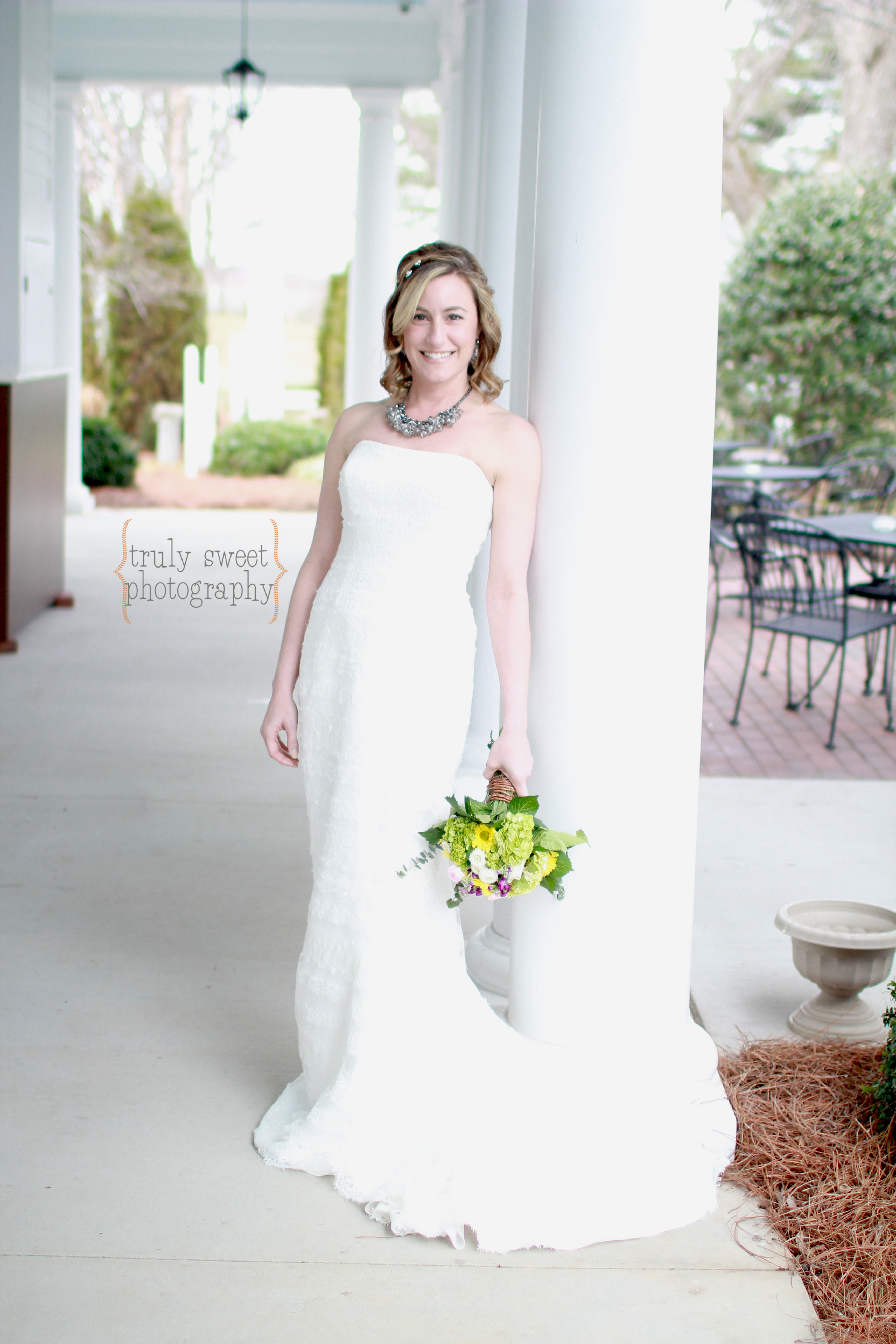 Braselton Stover House Bridal Wedding Photo of Bride