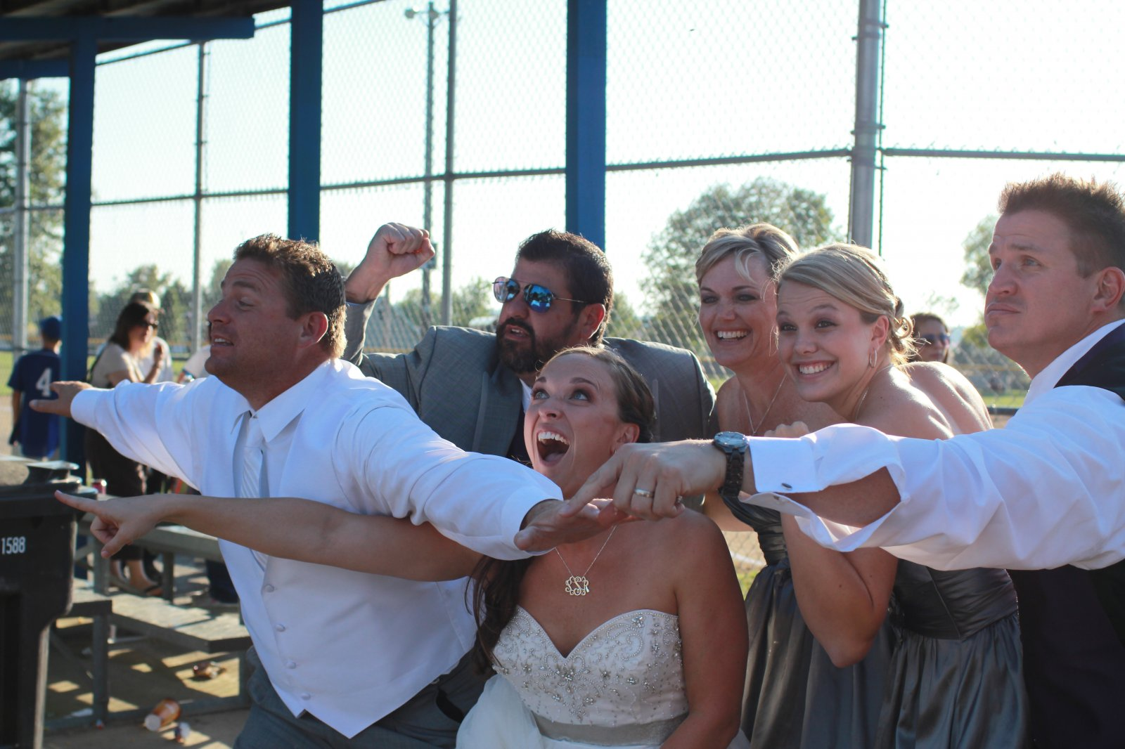 Silly Wedding Parties are the BEST!!